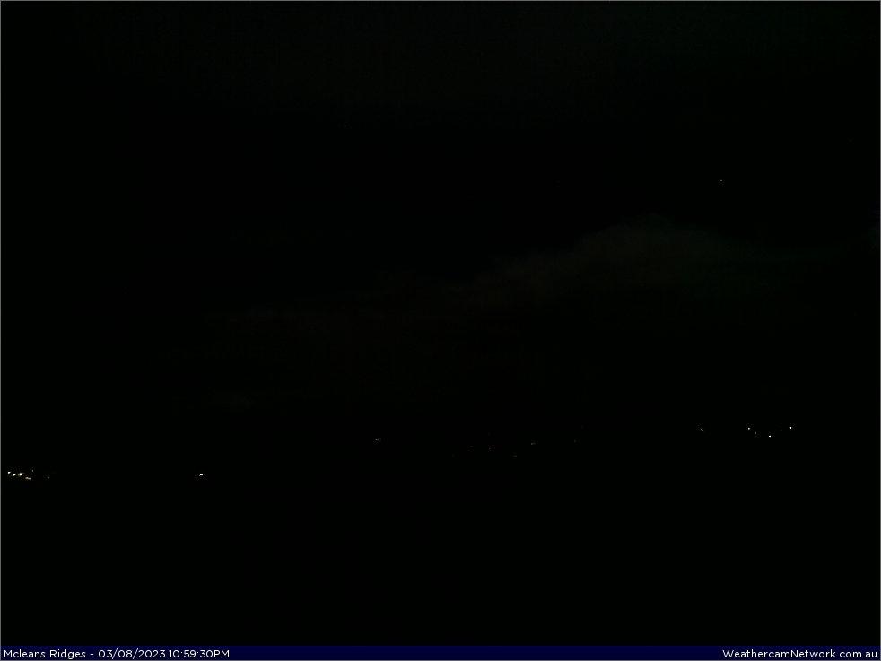 McLeans Ridges Weather Webcam facing north